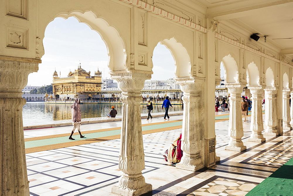 Harmandir Sahib (Golden Temple), Amritsar, Punjab, India, Asia