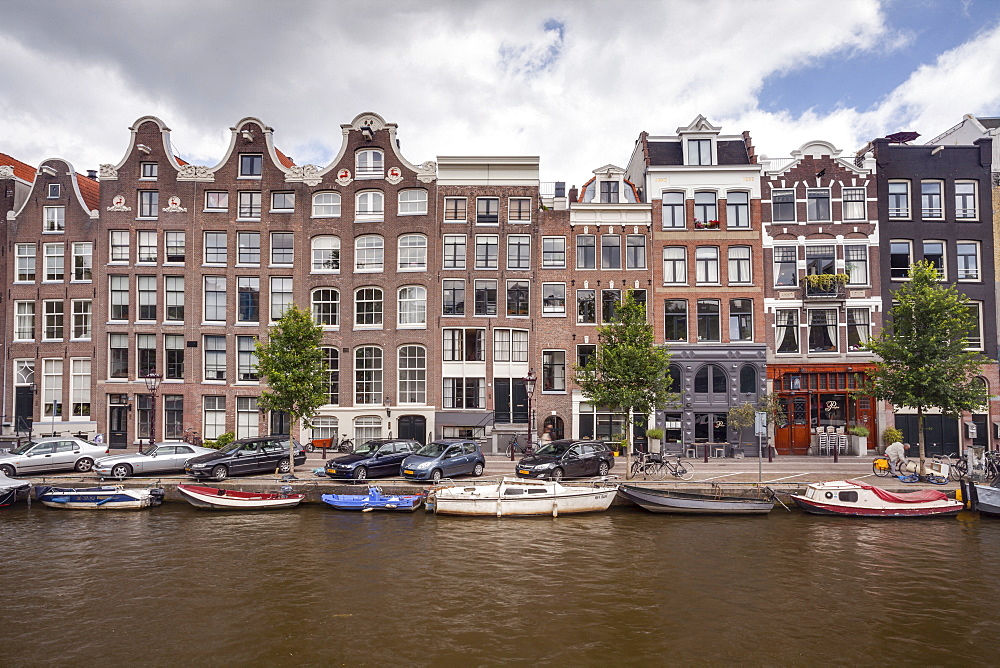 The Prinsengracht canal, UNESCO World Heritage Site, Amsterdam, The Netherlands, Europe
