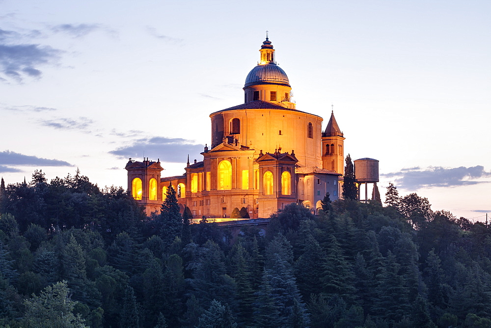 The Sanctuary of the Madonna of San Luca, Bologna, Emilia-Romagna, Italy, Europe