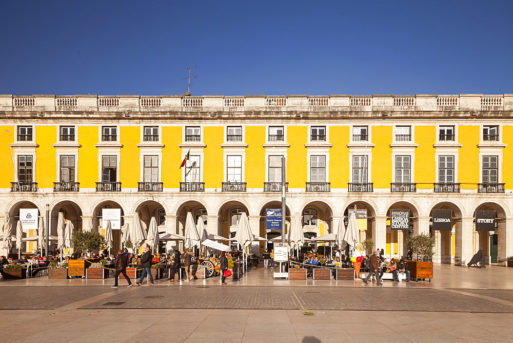 Praca do Comercio in Lisbon, Portugal, Europe