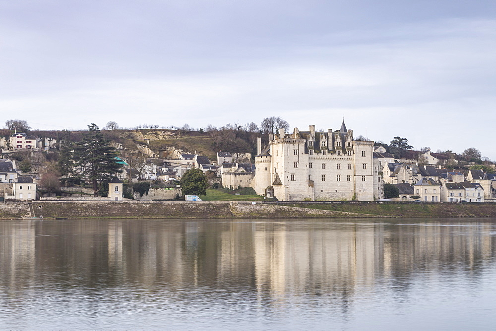 The village and Chateau of Montsoreau, UNESCO World Heritage Site, Loire Valley, Maine et Loire, France, Europe - 849-1726
