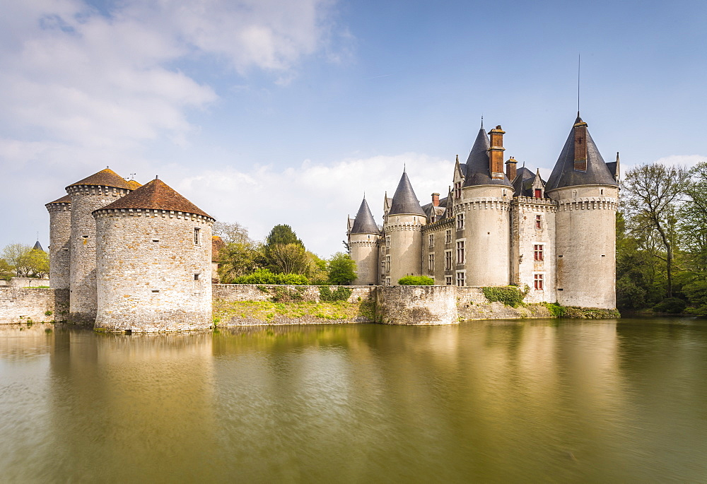 Chateau de Bourg-Archambault in central France which dates from the 15th century.