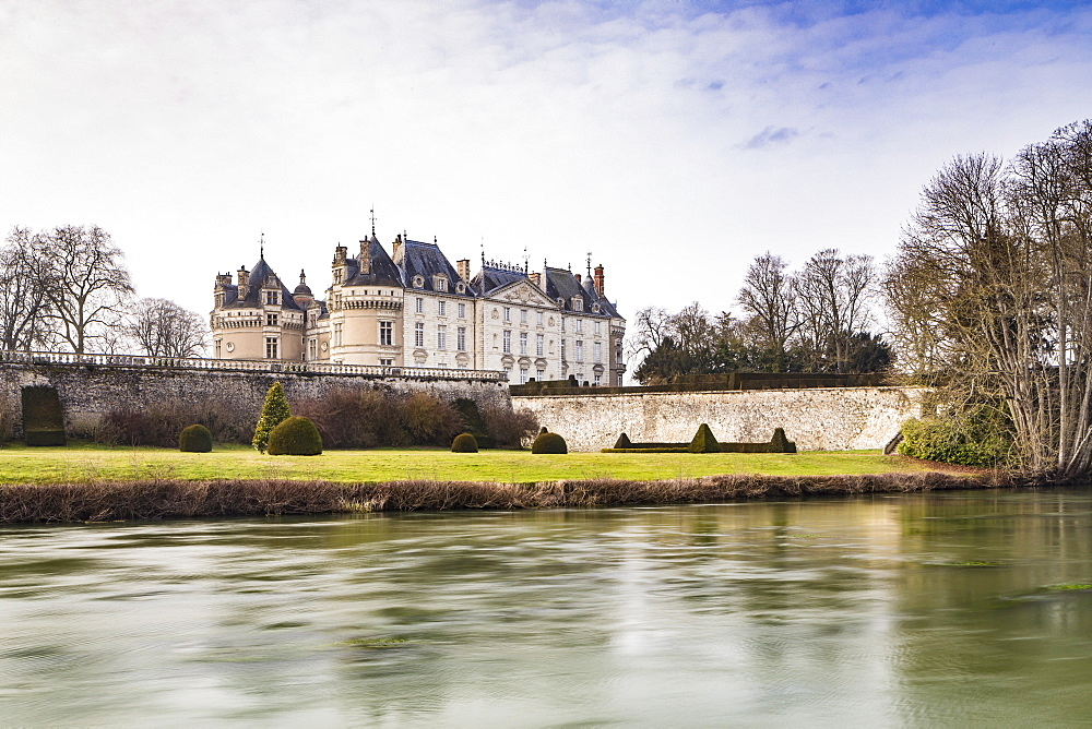 The Chateau du Lude in the Loire Valley, France.
