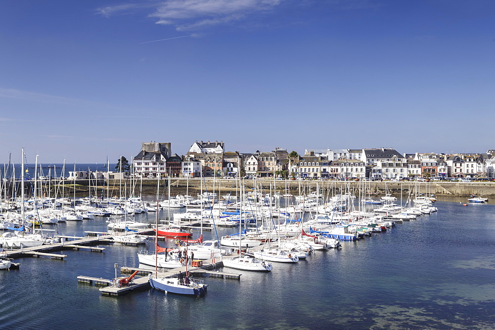 Concarneau, Finistere, Brittany, France, Europe.