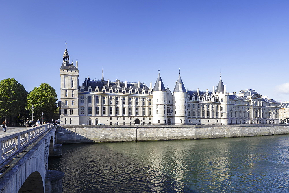 The Conciergerie in Paris, France.