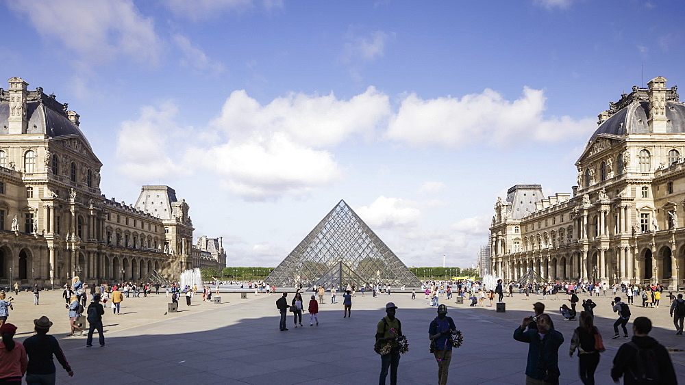 The Musee du Louvre, Paris, France, Europe - 849-1755