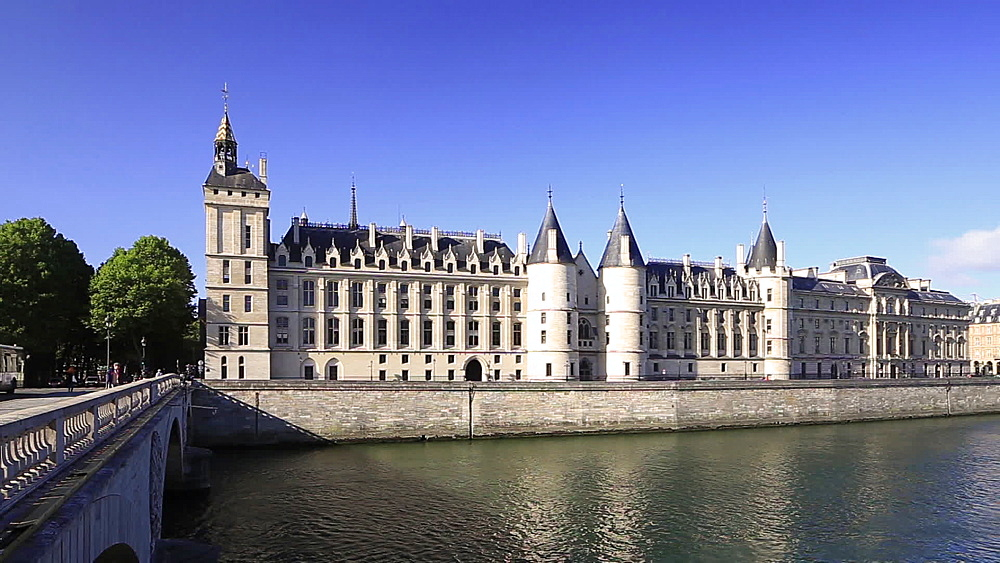 The Conciergerie, Paris, France, Europe - 849-1758