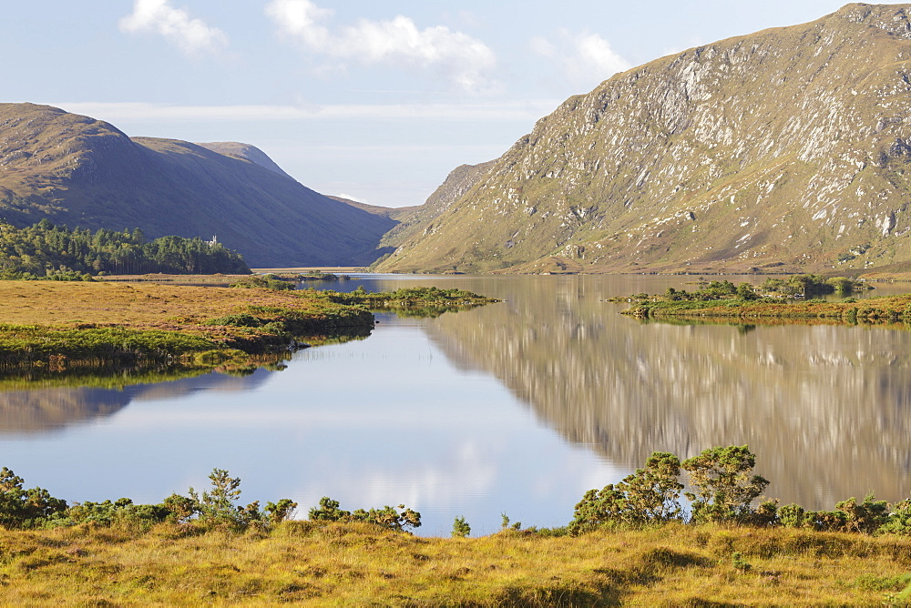 Lough Beagh in Glenveagh National Park, Donegal, Republic of Ireland, Europe - 849-1766