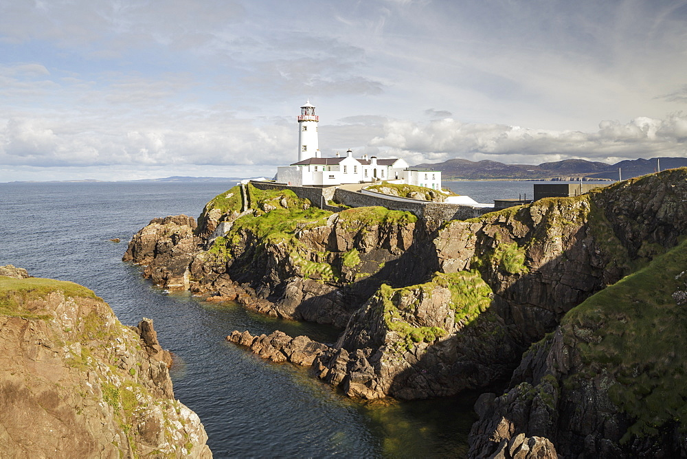 Fanad Head Lighthouse in Donegal, Ulster, Republic of Ireland, Europe - 849-1767