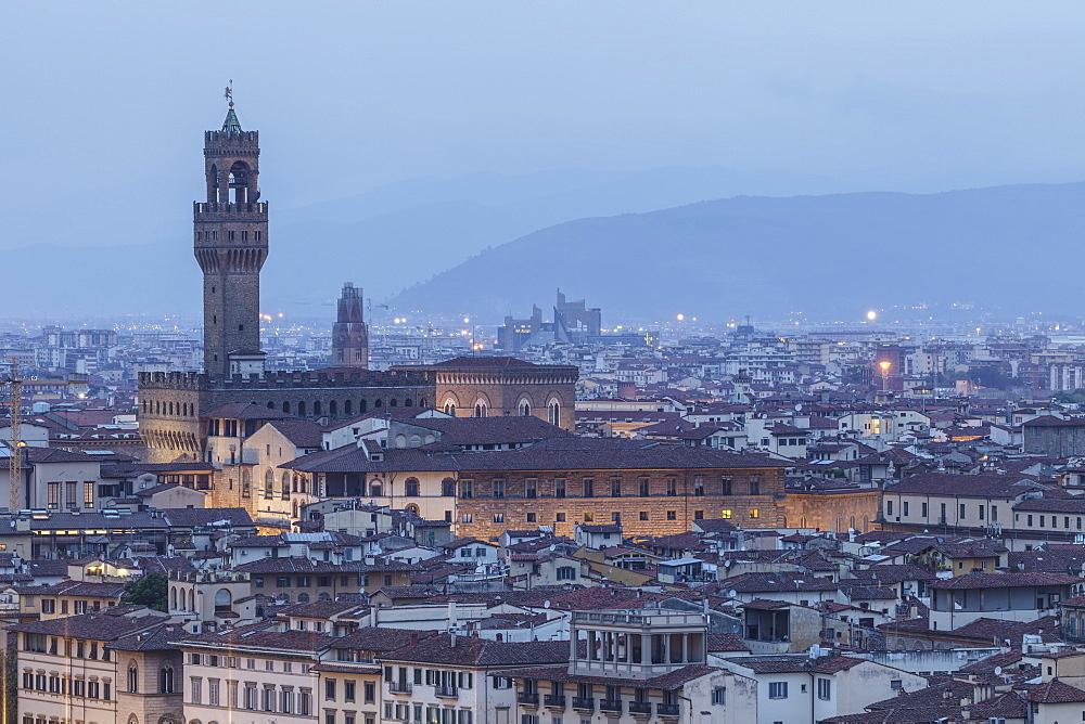 Palazzo Vecchio, UNESCO World Heritage Site, Florence, Tuscany, Italy, Europe - 849-1780
