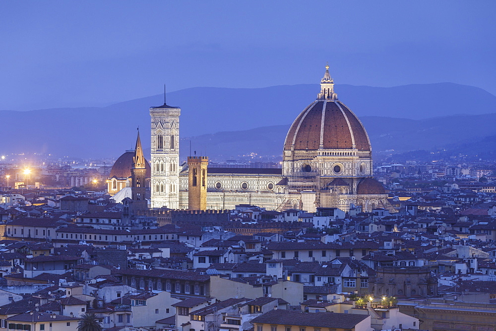The Duomo (Santa Maria del Fiore), UNESCO World Heritage Site, Florence, Italy, Europe - 849-1783