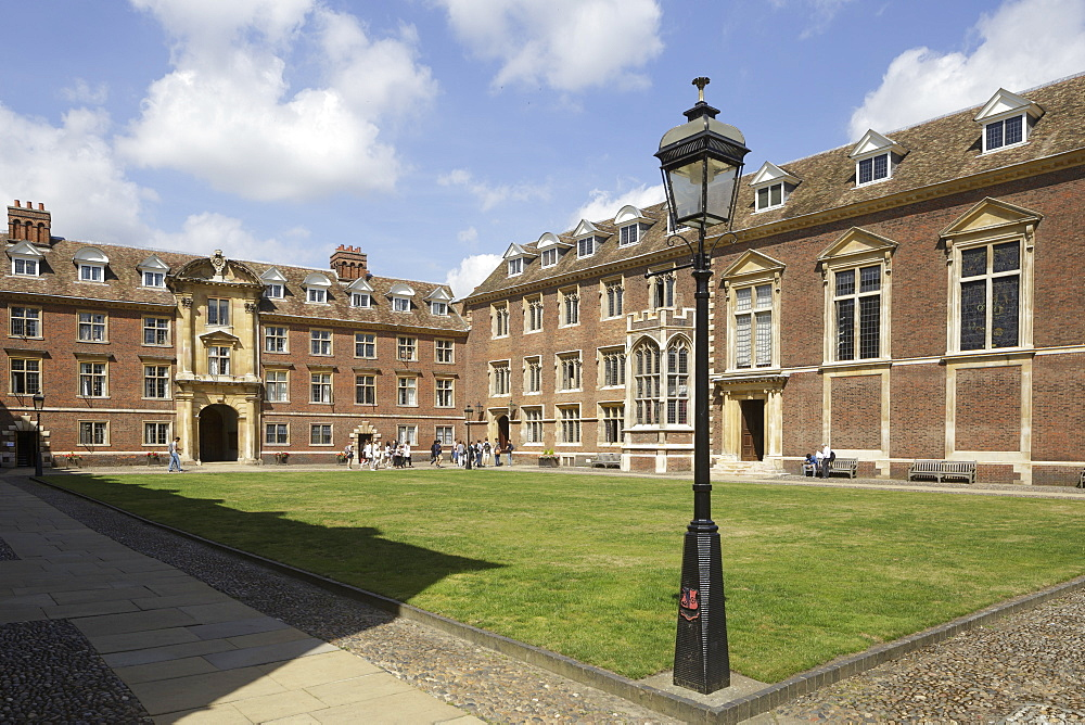 St. Catherine's College, Cambridge, Cambridgeshire, England, United Kingdom, Europe - 849-1786