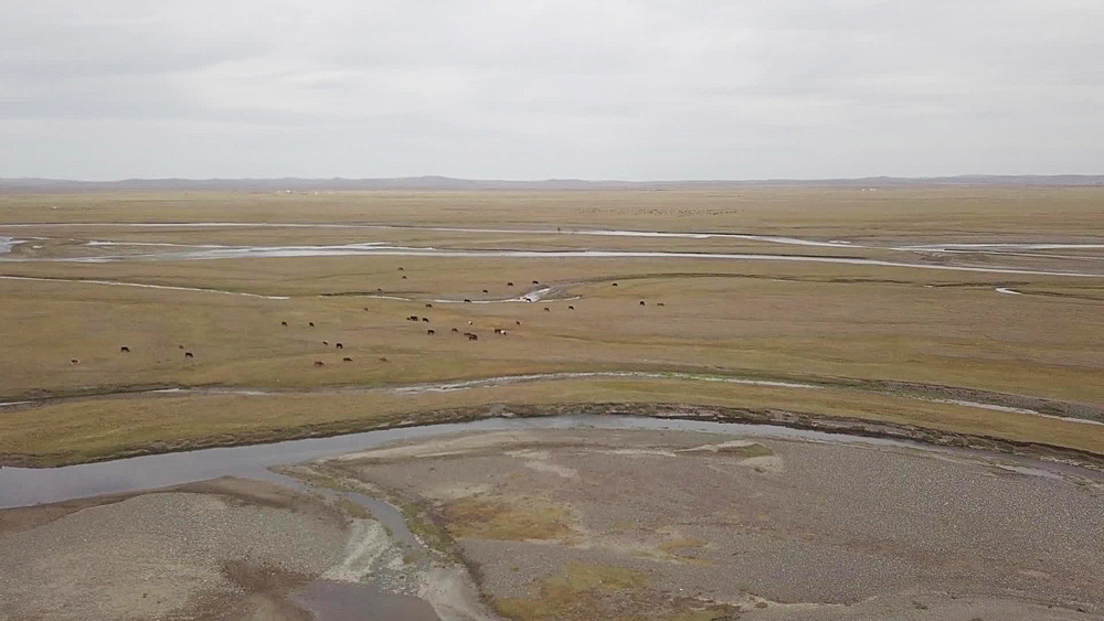 The Orkhon River in Mongolia - 849-1816