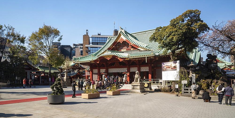 Kanda Myoujin Shrine in Binkyo, Tokyo, Japan.