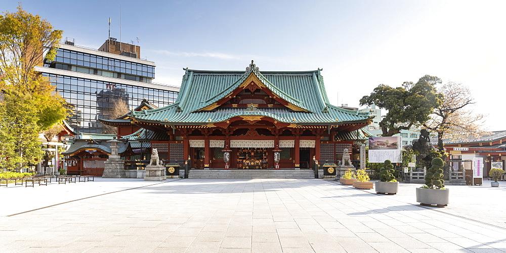 Kanda Myoujin Shrine in Bunkyo, Tokyo, Japan.