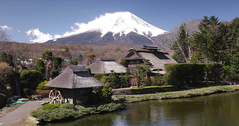 The village of Oshino in the Mount Fuji Five Lakes National Park - 849-1925