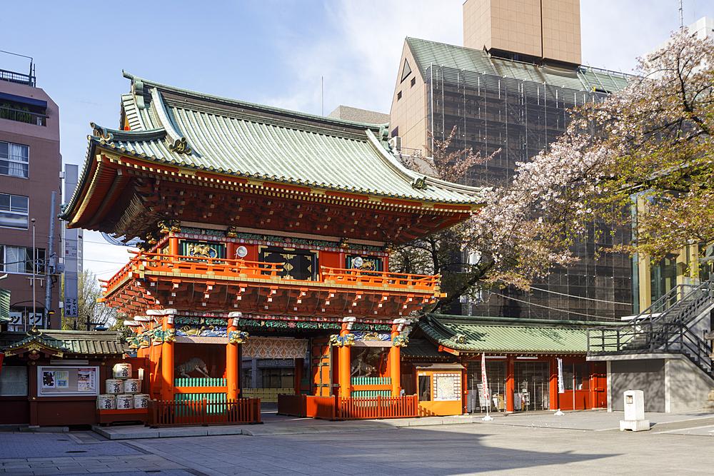 Kanda Myoujin Shrine in Tokyo, Japan, Asia