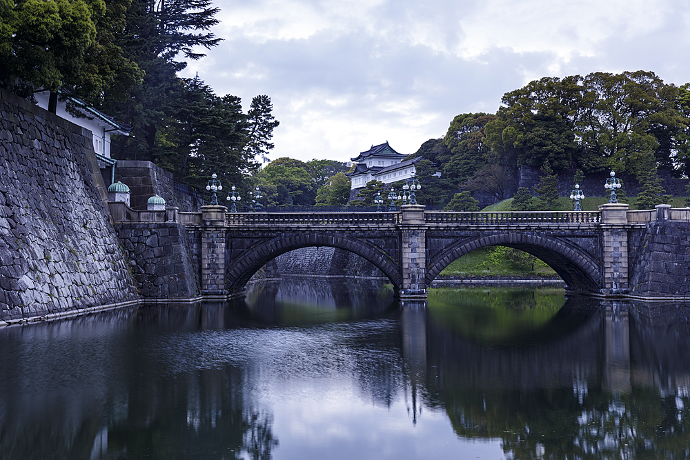 The Imperial Palace in central Tokyo, Japan, Asia
