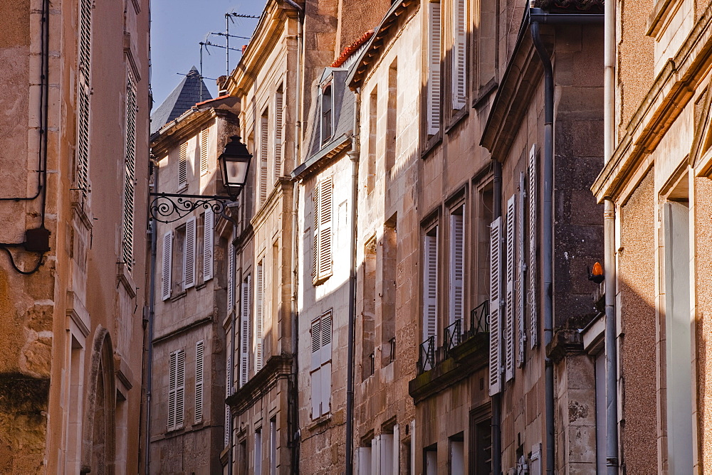 The small streets of the city of Poitiers, Vienne, Poitou-Charentes, France, Europe