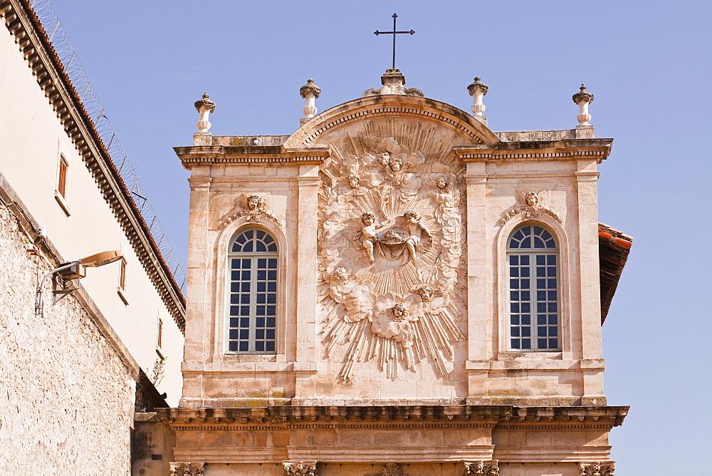 Chapelle Des Penitents Noirs de la Misericorde in the city of Avignon, Vaucluse, France, Europe