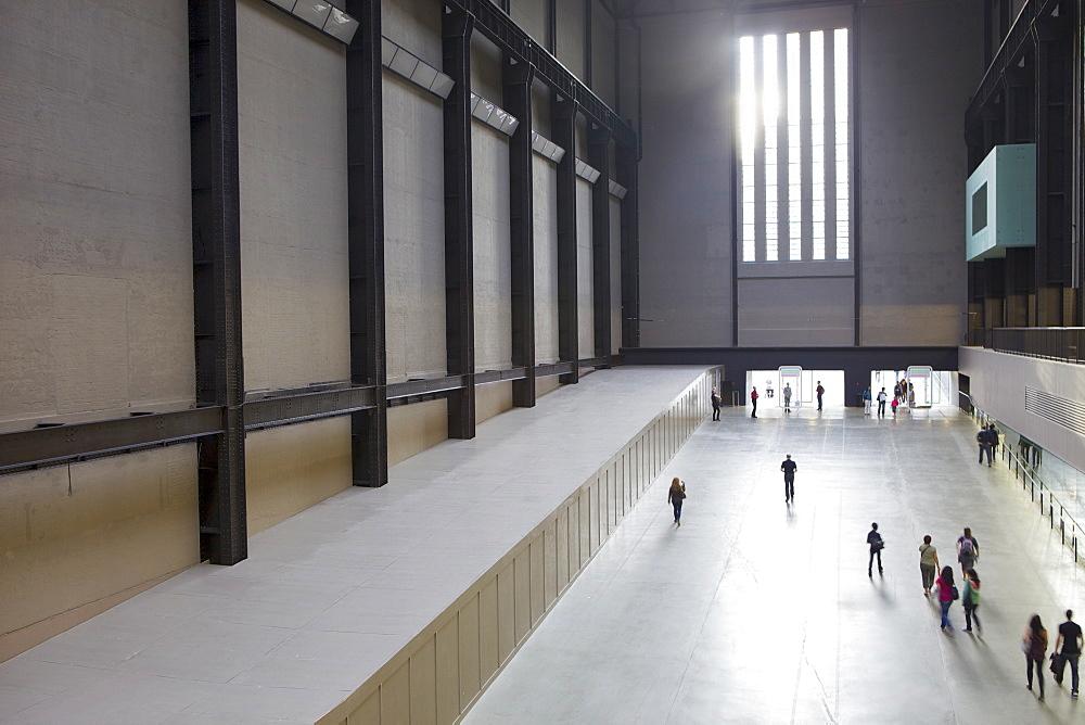 Turbine Hall, Tate Modern, London, England, United Kingdom, Europe