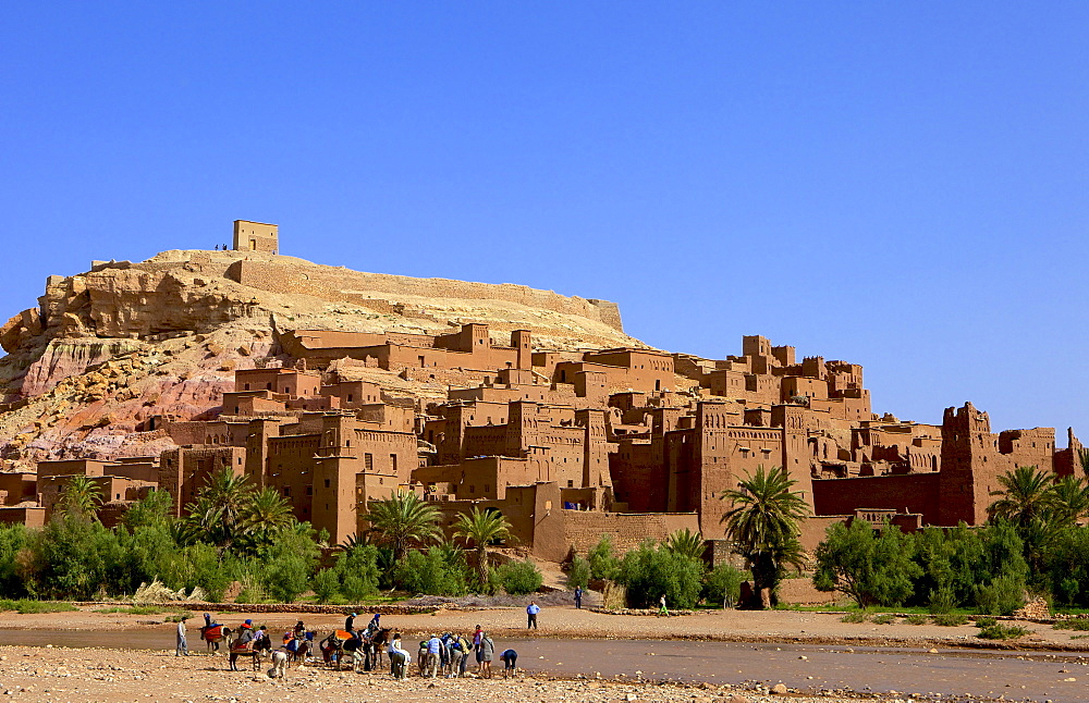 Kasbah, Ait-Benhaddou, UNESCO World Heritage Site, Morocco, North Africa, Africa