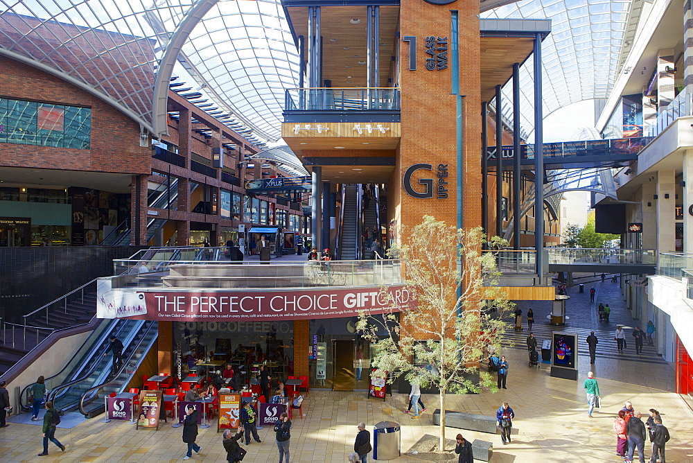 Cabot Circus shopping centre in Bristol, England, United Kingdom, Europe - 851-575
