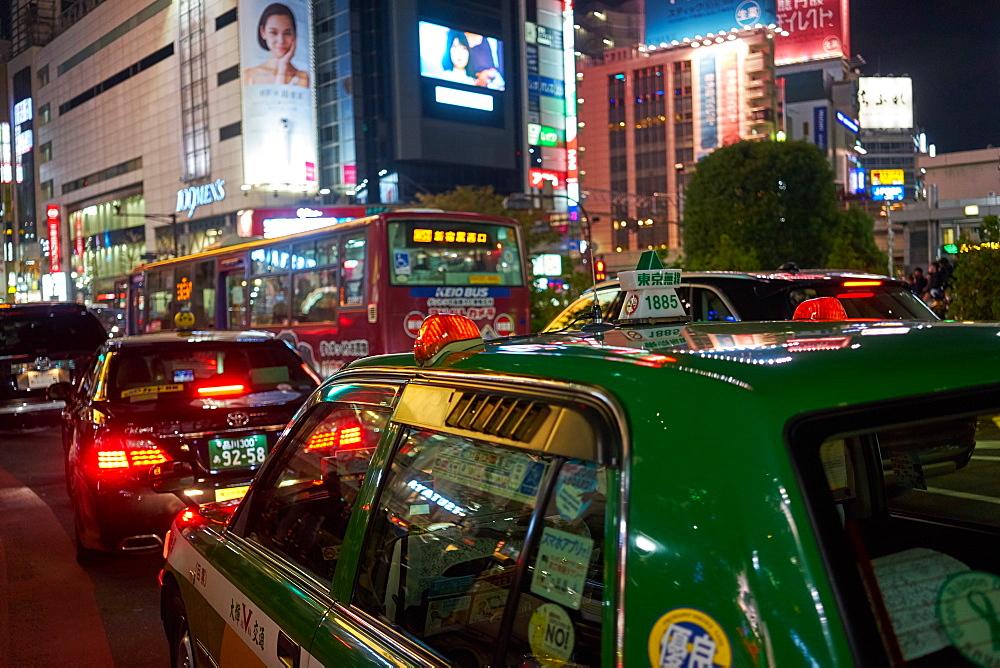 Shibuya at night, Tokyo, Japan, Asia - 851-647