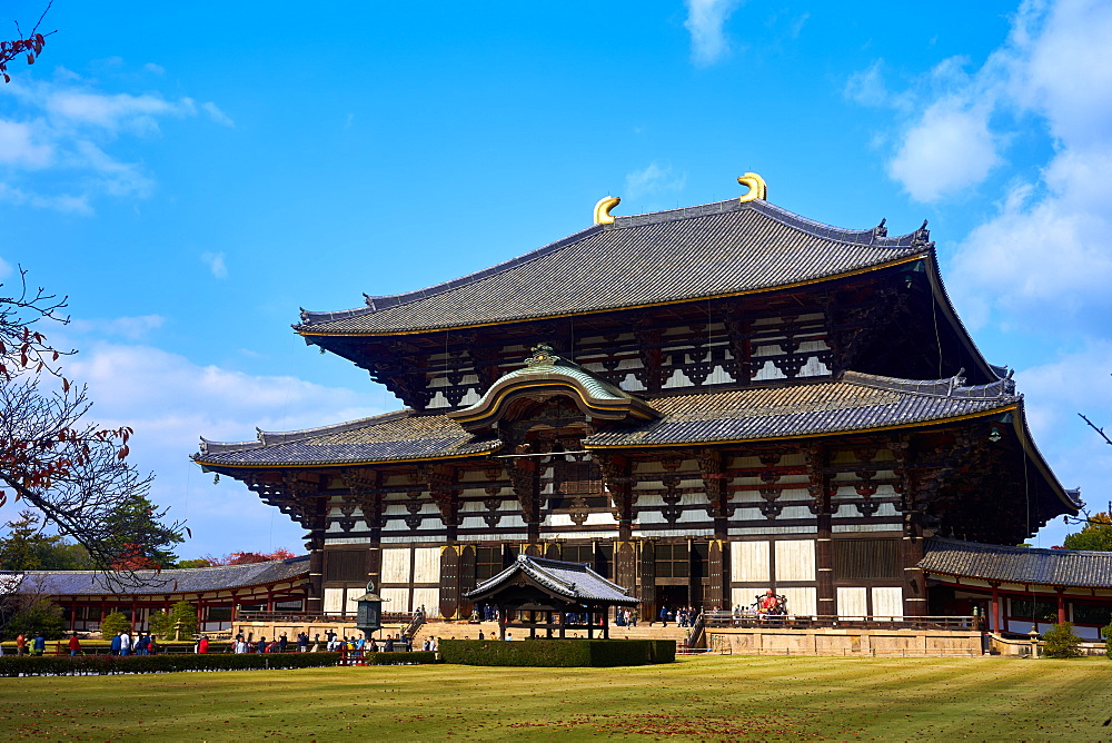 Todaiji Temple, UNESCO World Heritage Sit, Nara, Honshu, Japan, Asia