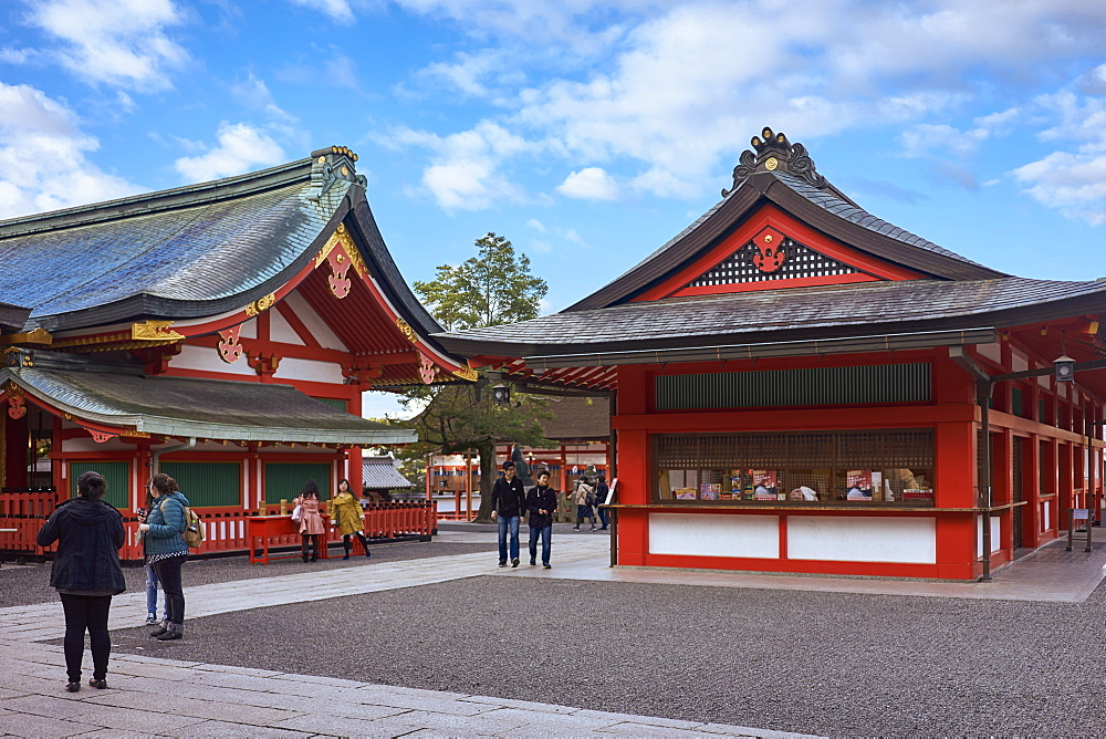 Fushimi Inari shrine in Kyoto. - 851-734