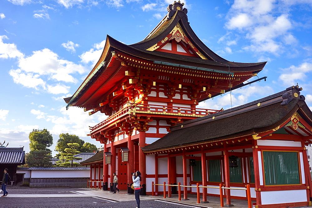 Fushimi Inari shrine in Kyoto. - 851-735