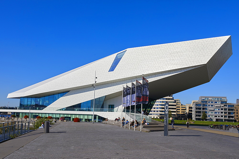 Eye Film Museum in Amsterdam Noord (North), Netherlands. - 851-881