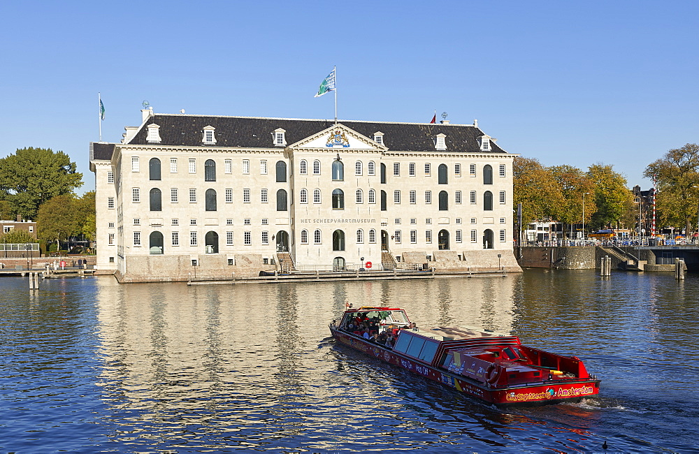 Het Scheepvaartmuseum, the National Maritime museum in Amsterdam, Netherlands. - 851-908