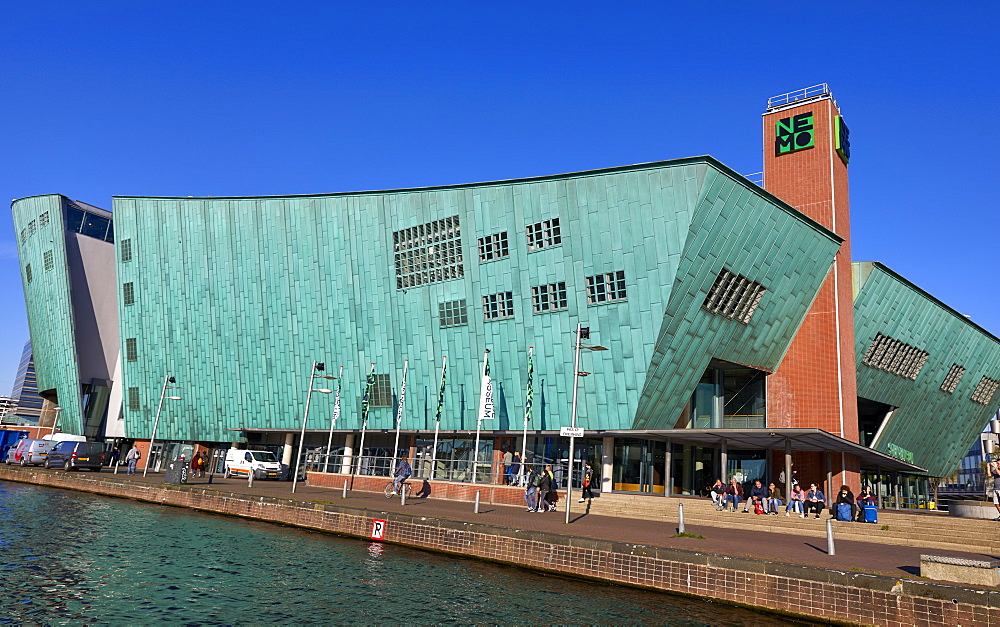 NEMO Museum, a science centre in Amsterdam, North Holland, The Netherlands, Europe - 851-909