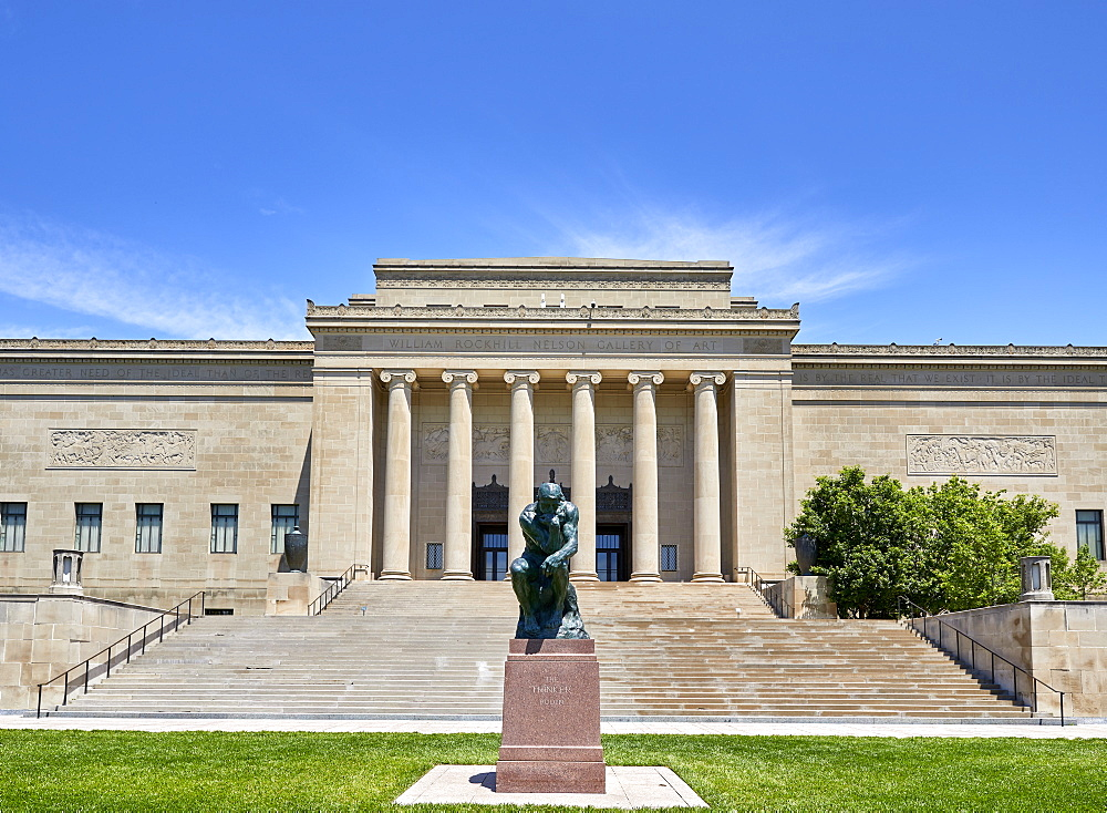 The Nelson Atkins Museum of Art in Kansas City. - 851-934