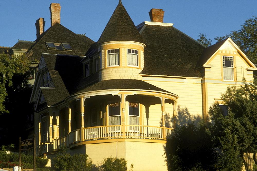 Victorian architecture in the historic city of Prescott, Arizona