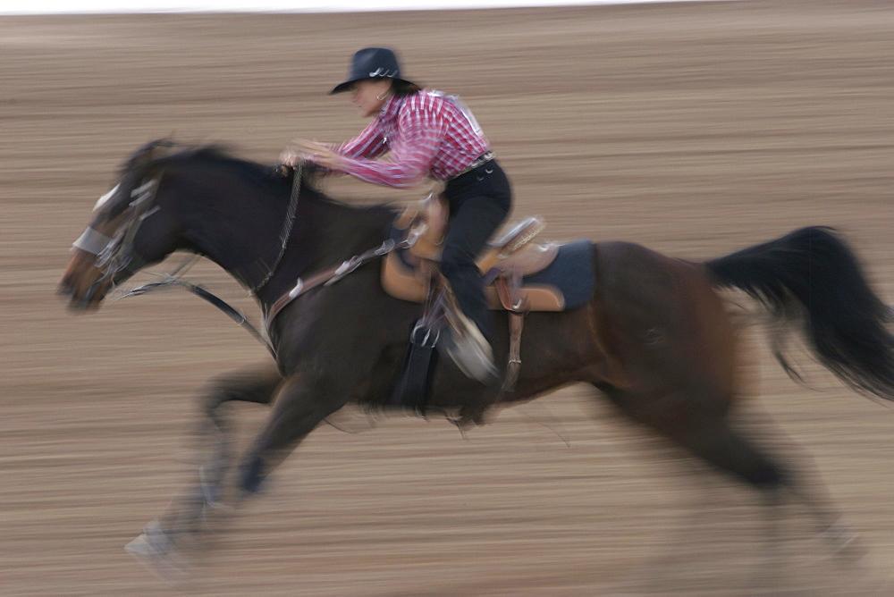 professional rodeo cowboys women's barrel racing.