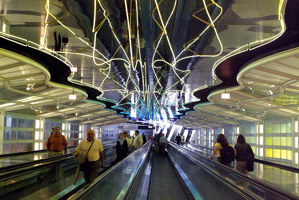 Chicago's O'Hare International Airport is the world's busiest airport.