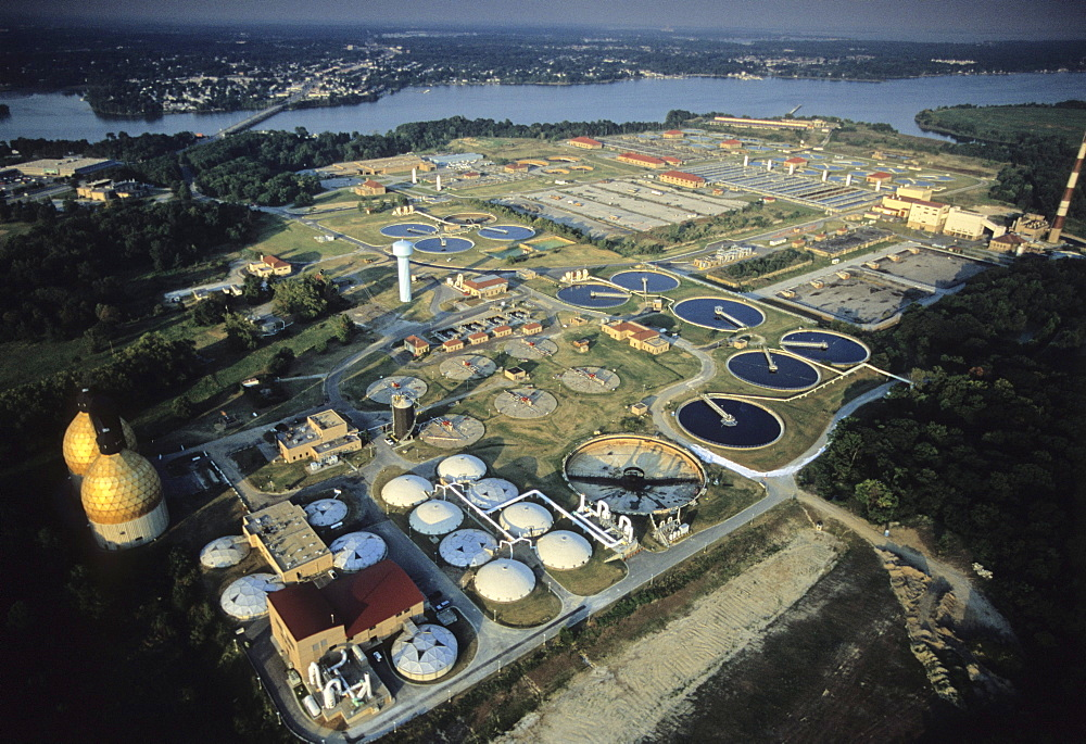 Back River sewage treatment plant, Baltimore, MD