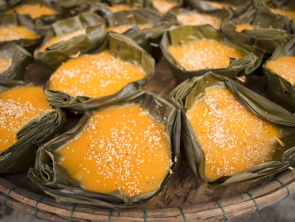 Holiday sweets for Chinese New Year in Hoi An, Vietnam