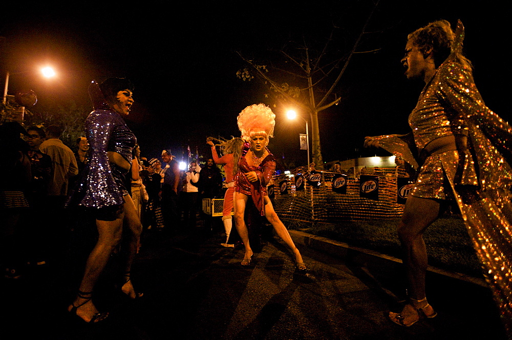 Thousands attend the 2008 West Hollywood Costume Carnival.