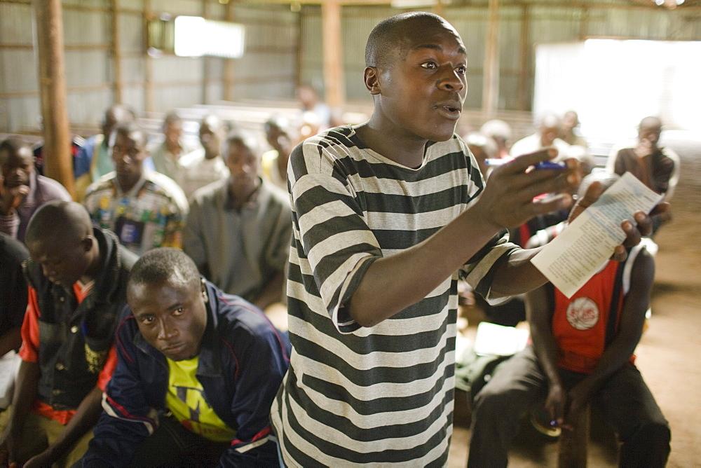 Reintegration camp, Mutobo, Rwanda