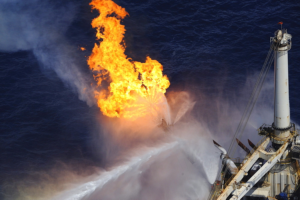 "At ""The Source"": The site of the BP Deepwater Horizon oil drilling catastrophe"