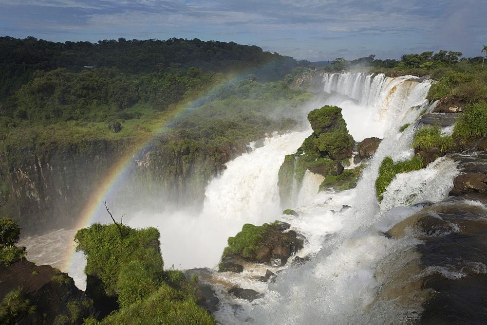 Waterfalls at Iguazu National Park, Argentina.