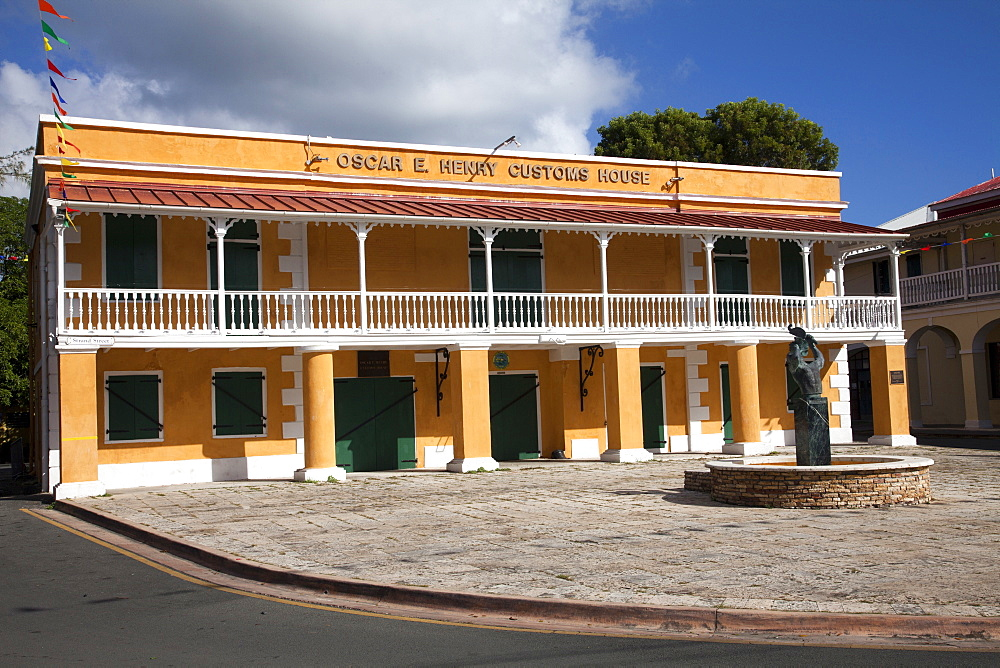 Old Customs House, Frederiksted St.Croix, US Virgin Islands