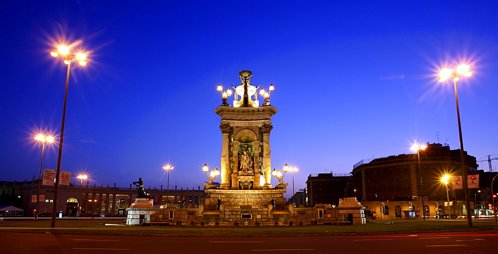 The Plaza of Spain in Barcelona is one of the most emblematic places of the Catalan capital.