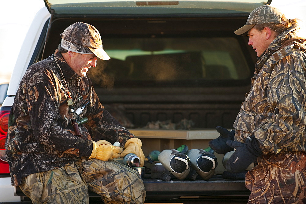 Brad Jackson and Corey Funk discuss hunting Carson City, NV, United States of America