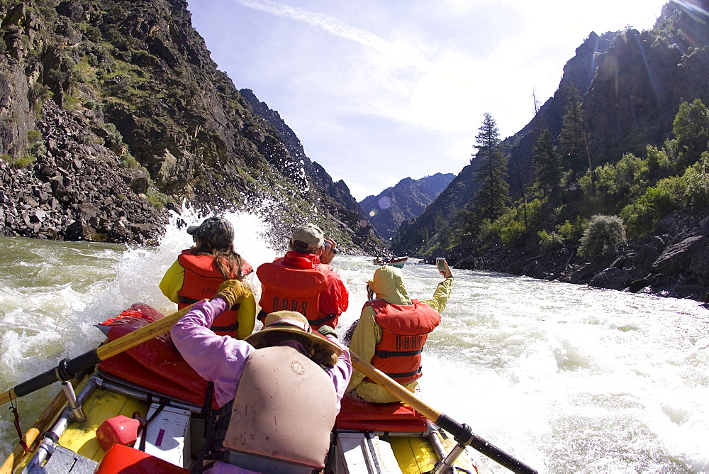 Rafting the Middle Fork of the Salmon River, ID, United States of America