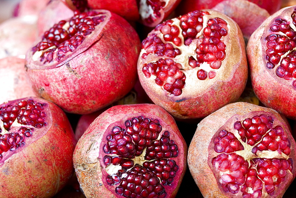 Fruit (pomegranate) at the Grand Bazaar (also known as Kapili Carsi), Istanbul, Turkey, November 2007, Turkey
