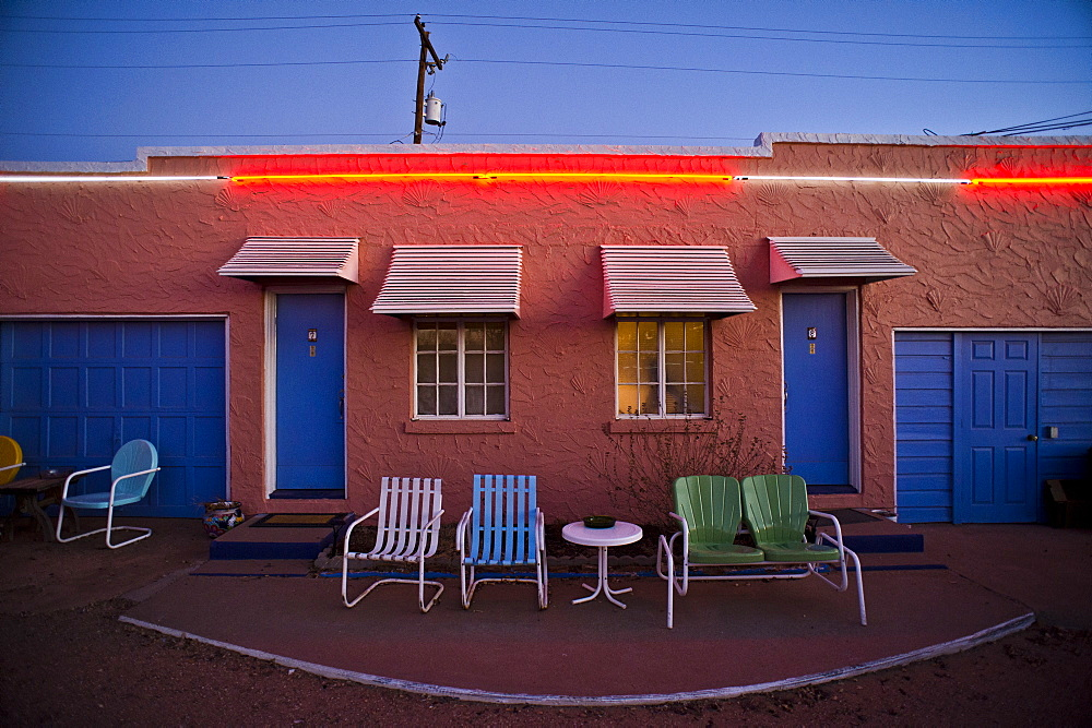 The Blue Swallow Motel.